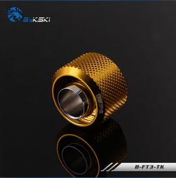Фото Фитинг Bykski 10/16 мм G1/4 (B-FT3-TK) золотой