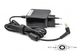 Фото Блок питания для ноутбуков PowerPlant ACER 220V, 19V 40W 2.15A (5.5*1.7) wall mount