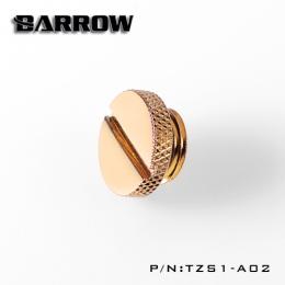Фото Заглушка Barrow с резьбой G1/4 золотая