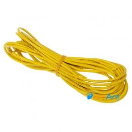Фото Монтажный провод желтый 2.1мм