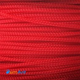 """Фото Оплетка для кабеля """"змеиная кожа"""" красная 3мм"""