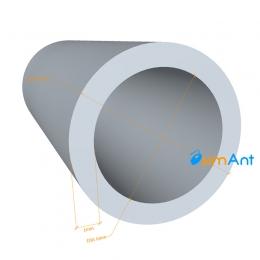 Фото Труба алюминиевая круглая 8х1мм