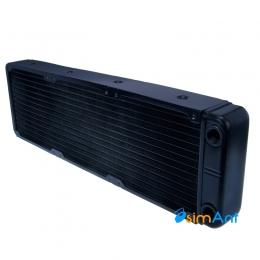 Фото Алюминиевый радиатор водяного охлаждения (СВО) 360х120мм