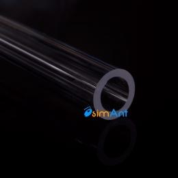 Фото Труба акриловая 10/14мм (1 метр)