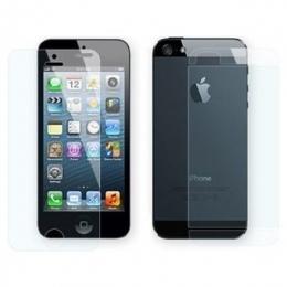 Фото Защитная пленка для iPhone 5/5S Remax Ultimate Microcrystal line 2in1 Crystal