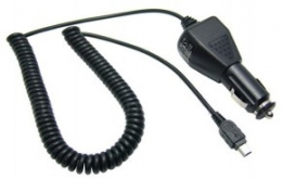 Фото Автомобильное зарядное устройство с mini USB
