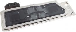 Фото Водоблок для видеокарты (GPU) Vesuvius for Radeon R9 295X2 black edition, nickel plated version