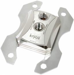 Фото Водоблок cuplex kryos XT .925 silver edition for socket AM3(+)/AM2(+)/FM2(+)/FM1, G1/4