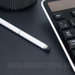 Фото Ручка-стилус для ёмкостных экранов (белый)