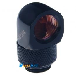 Фото Поворотный угловой адаптер 90 градусов G1/4 alphacool (черный)