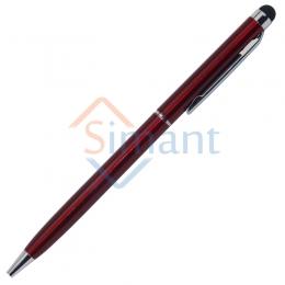 Фото Ручка со стилусом для ёмкостных дисплеев (бордовый)