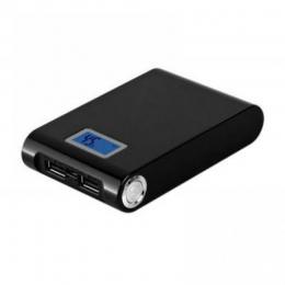 Фото Универсальная мобильная батарея LMS Data PBK-12000-LCD Black (12000мАч)