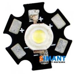 Фото Светодиод LED 1W White 110 Lm