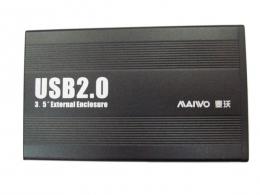 """Фото Карман внешний для HDD/SSD 3.5"""" Maiwo K3502-U2S Black"""