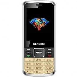 Фото Мобильный телефон Keneksi K6 Gold Dual Sim (4602009369148)