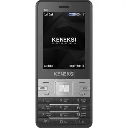 Фото Мобильный телефон Keneksi K8 Dual Sim Black (4680287514344)