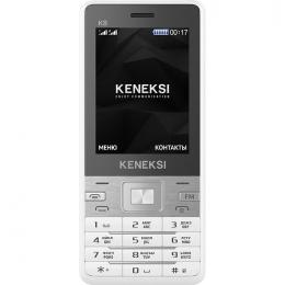 Фото Мобильный телефон Keneksi K8 Dual Sim White (4680287514351)