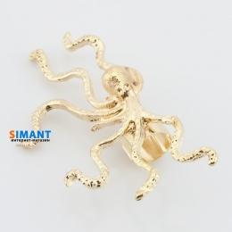 Фото Kафф осьминог золото