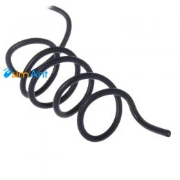Фото Монтажный высоковольтный провод в силиконовой изоляции (черный)
