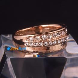 Фото Кольцо Любовь золото