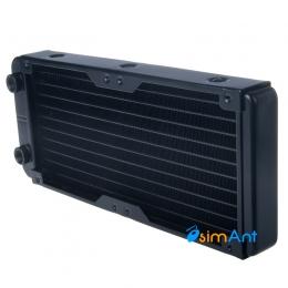 Фото Алюминиевый радиатор водяного охлаждения 240х120мм