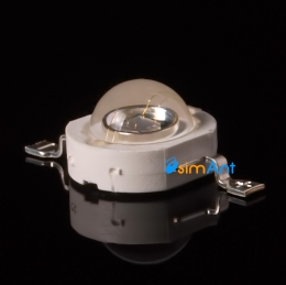 Фото Ультрафиолетовый светодиод LED 3W UV (УФ) 390-395nm