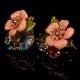 Фото Серьги Розовый цветок Les Nereides
