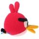 Фото Красная птица Рэд (Angry Birds)
