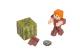 Фото Игровая фигурка Minecraft Alex in Leather Armor серия 4(19975M)