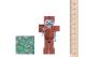 Фото Игровая фигурка Minecraft Skeleton in Leather Armor серия 3(16487M)