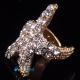 Фото Кафф Морская звездочка золото
