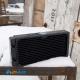 Фото Медный радиатор водяного охлаждения (СВО) 240х120мм