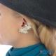 Фото Кафф Треугольник для проколотых ушей