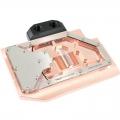 Фото Водоблок для видеокарты Radeon RX 480 acrylic glass edition