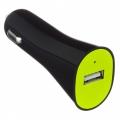 Фото Автомобильное зарядное устройство Kit USB Charger 2.1A Black (USBKCC2A)