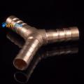 Фото Коннектор-тройник Y-образный 8мм (Металл)