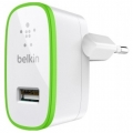 Фото Автомобильное ЗУ Belkin USB HomeCharger 2.4 A (F8J040vfWHT)