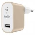 Фото Сетевое зарядное устройство Belkin Mixit Premium USB 2.4 A Gold (F8M731vfGLD)