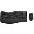 Фото Клавиатура и мышь Microsoft WL Comfort Desktop 5050 BlueTrack Ru Ret AES (PP4-00017)