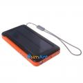 Фото Походный мобильный аккумулятор с солнечной панелью Powerplant - PB-SP001S