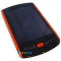 Фото Мощный мобильный аккумулятор с солнечной панелью для ноутбука - Powerplant MP-S23000