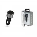 Фото Автомобильное ЗУ Kit Platinum Dual USB Charger (USB 3.4 A) Space Grey (USBCCALU3SG)