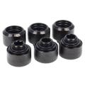 Фото Alphacool Eiszapfen 16mm HardTube compression fitting G1/4 Black - 6 шт.