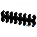 Фото Держатель кабелей 14-pin (питание видеокарты) черный открытый