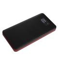 Фото Универсальная мобильная батарея Smartfortec 12000 mAh LCD-экран Черный/Красный (PBK-12000 black+red)