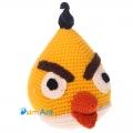 Фото Желтая птица Чак (Angry Birds)