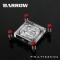 Фото Водоблок для процессора Barrow Intel X99 Red (LTYK3X-04)