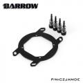 Фото Крепление для водоблока Barrow AMD Ryzen AM4 Black-Black (CZJAMDE)