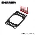 Фото Крепление для водоблока Barrow AMD Ryzen AM4 Black-Red (CZJAMDS)