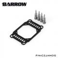 Фото Крепление для водоблока Barrow AMD Ryzen AM4 Black-Sliver (CZJAMDS)